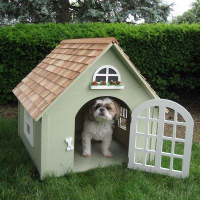 Victoria Indoor Outdoor Dog House With Images Small Dog House
