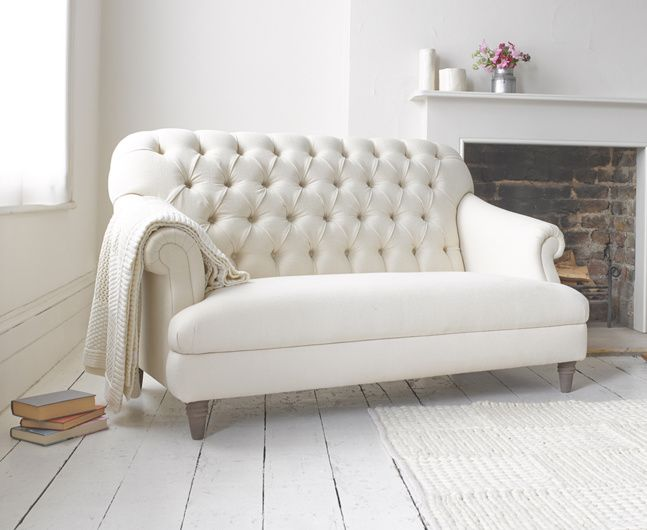 Our Gertie Is An Elegant Button Back, Chesterfield Style Sofa. Itu0027s Small In