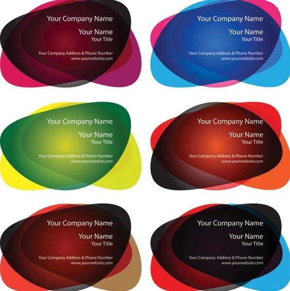 Free Abstract Oval Business Logo Design Vector Titanui Business Logo Design Business Card Set Spa Logo Design