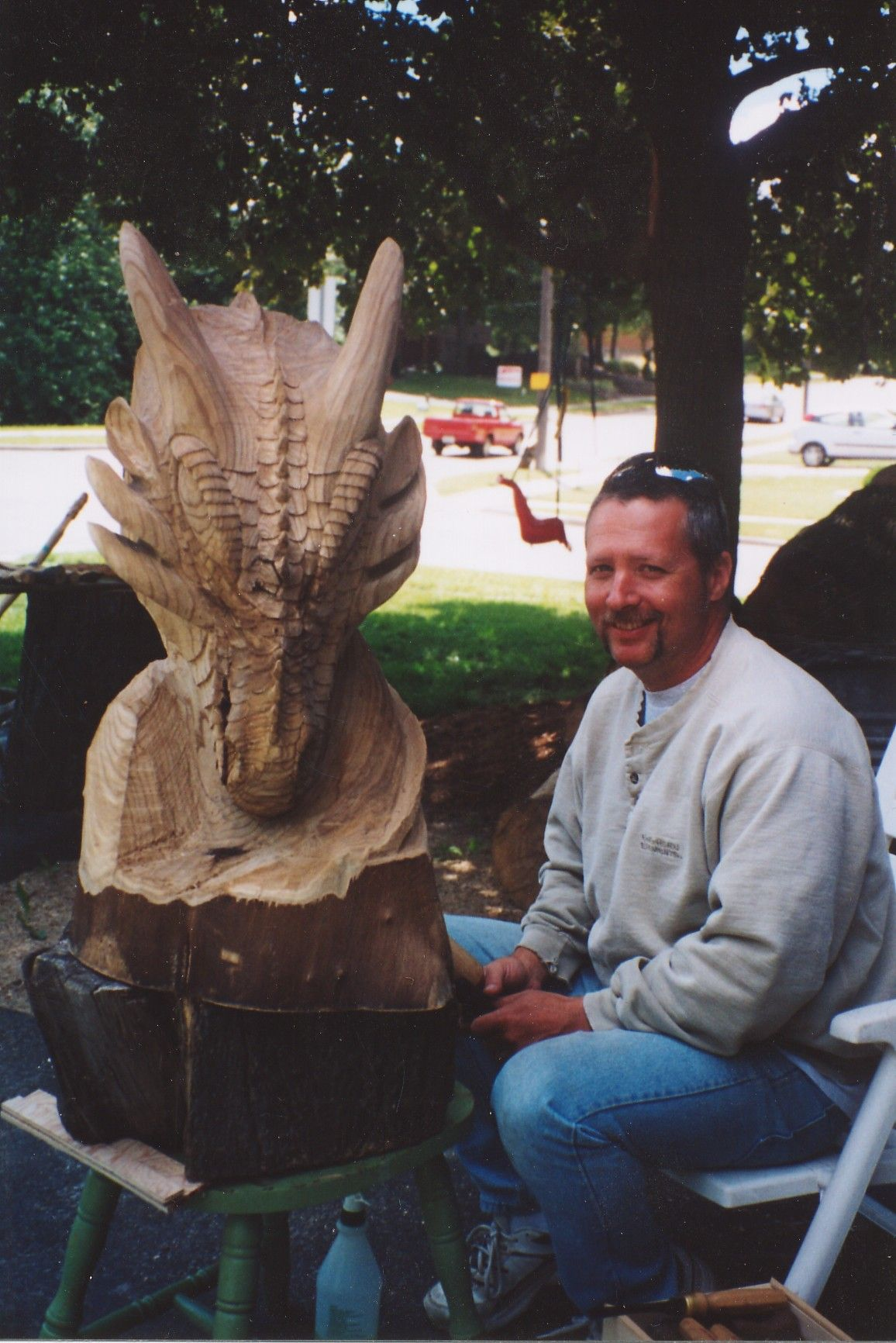 Paul frenette carving dragon декор фунд. цоколь pinterest