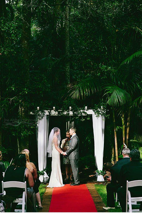 Beautiful Rainforest Wedding Venue In Mt Tamborine