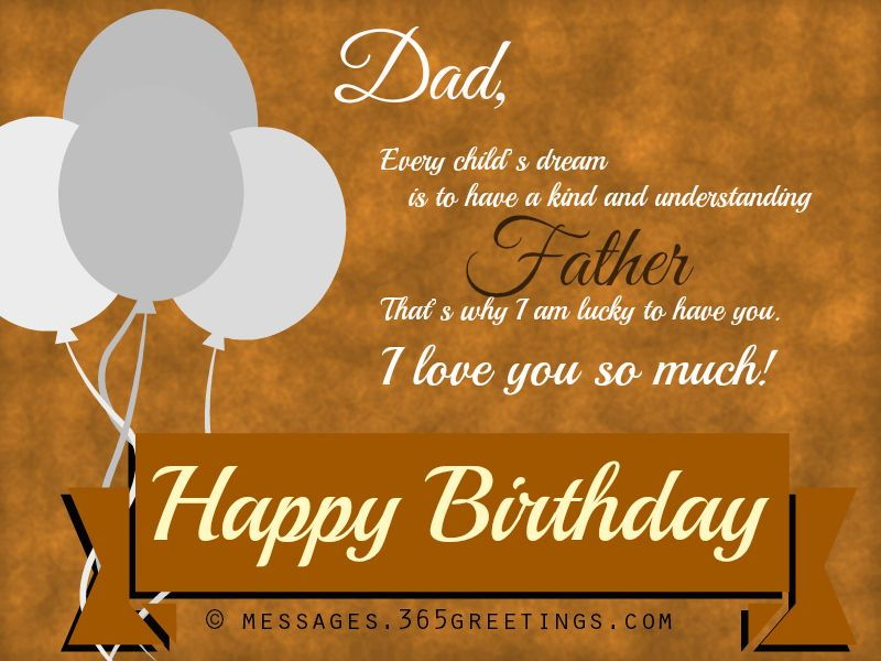 Birthday Wishes For Father Health ~ Happy birthday wishes and messages dads