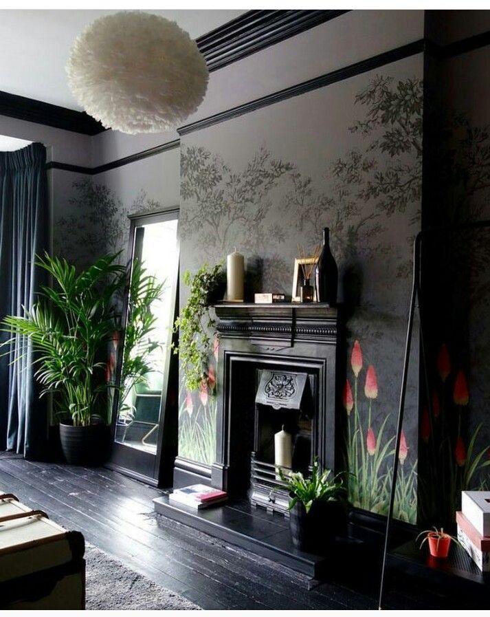 Pin de Amy Degener en woonideeen Pinterest Planta para - chimeneas interiores