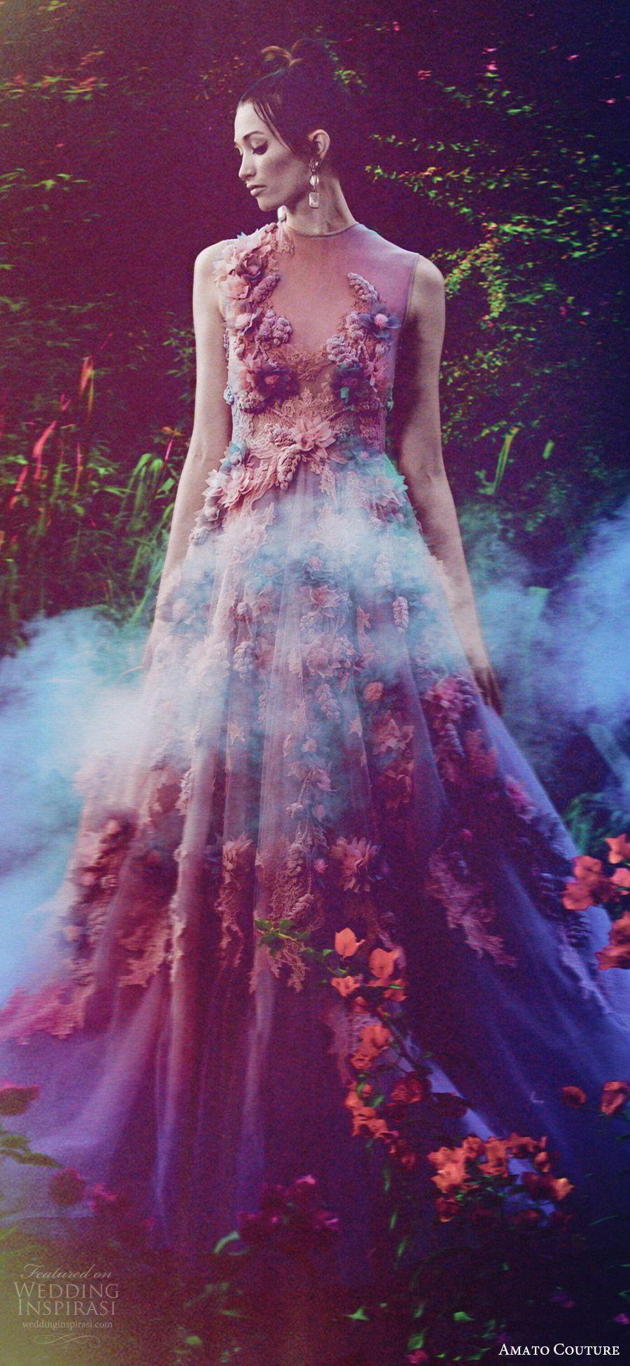 """Amato Couture 2017 Collection — """"The Secret Garden"""" Shoot   Moderno ..."""