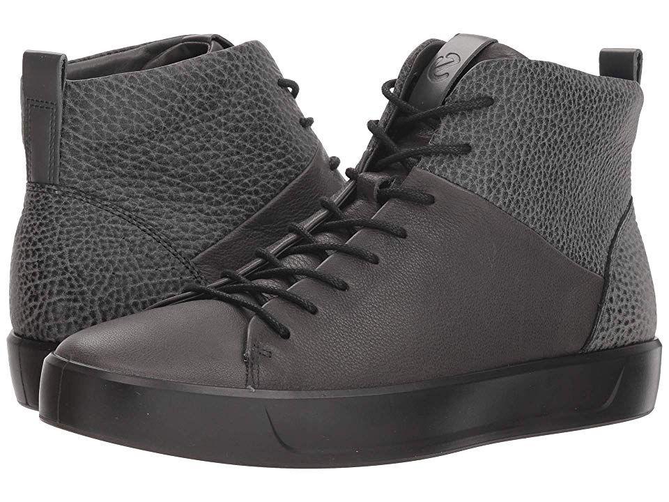 ecco high top sneakers mens