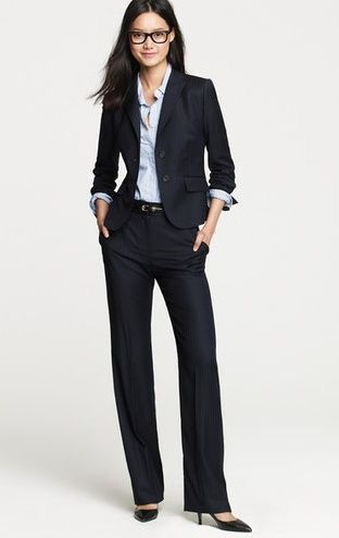 Smart Casual Commercial Fashion Job Interview Outfits For Women