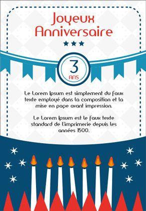 carte anniversaire enfant à imprimer Carte anniversaire enfant à imprimer (Gratuit) (avec images