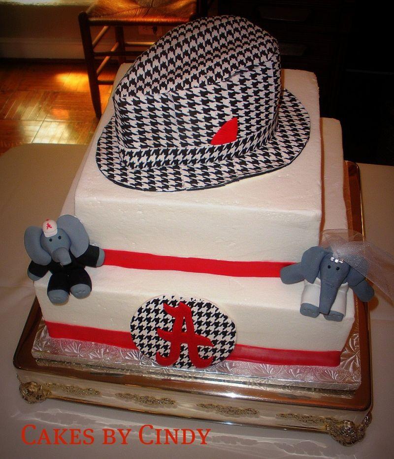 Groom's cake. Roll Tide!