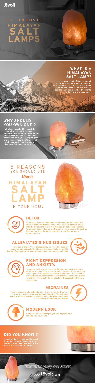 5 Reasons you should use a Levoit Himalayan Salt Lamp