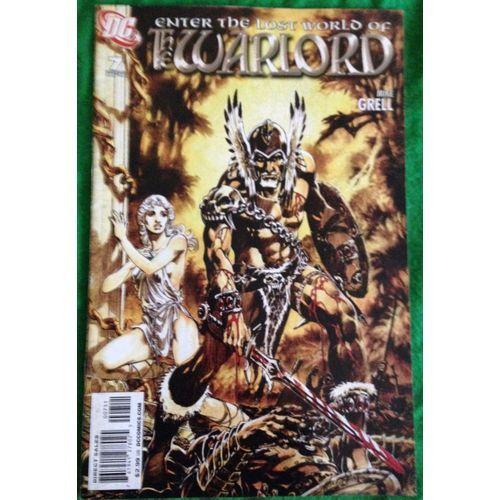 The Warlord #7 DC Comic Book Fantasy