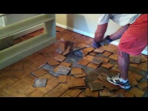 Removing Parquet Wood Flooring Can Be A Very Difficult Action When