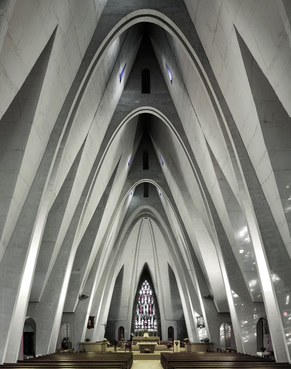 Photography Mid Century Modern Churches By Fabrice Fouillet