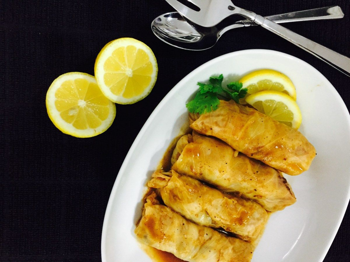 stuffed cabbage malfouf