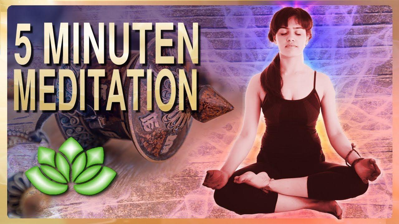 5 Minuten Meditation deutsch YouTube Meditation