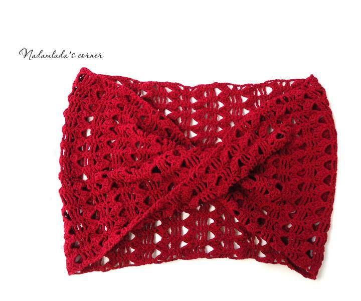 https://www.facebook.com/NadamladasCorner Lace Infinity Scarf. Lace Cowl. Unique Handmade Scarves #scarf #scarves #handmadescarf #infinityscarf #fashion