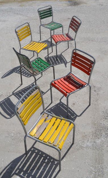 Gartenstuhle Metall Test Konzept | Chaises De Jardin Bigla Hinterhof Pinterest Hinterhof