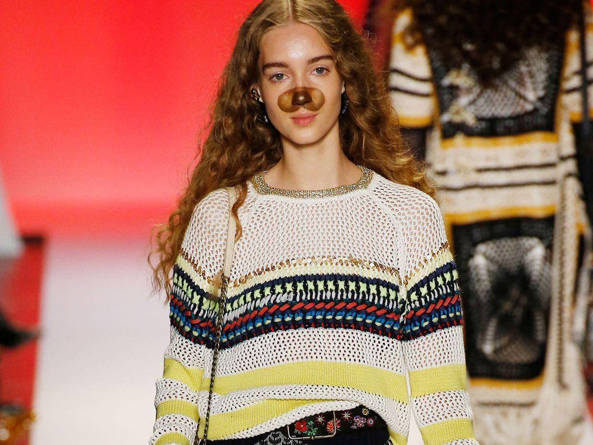 Snapchat Filters Came To Life On The Runway — & They're
