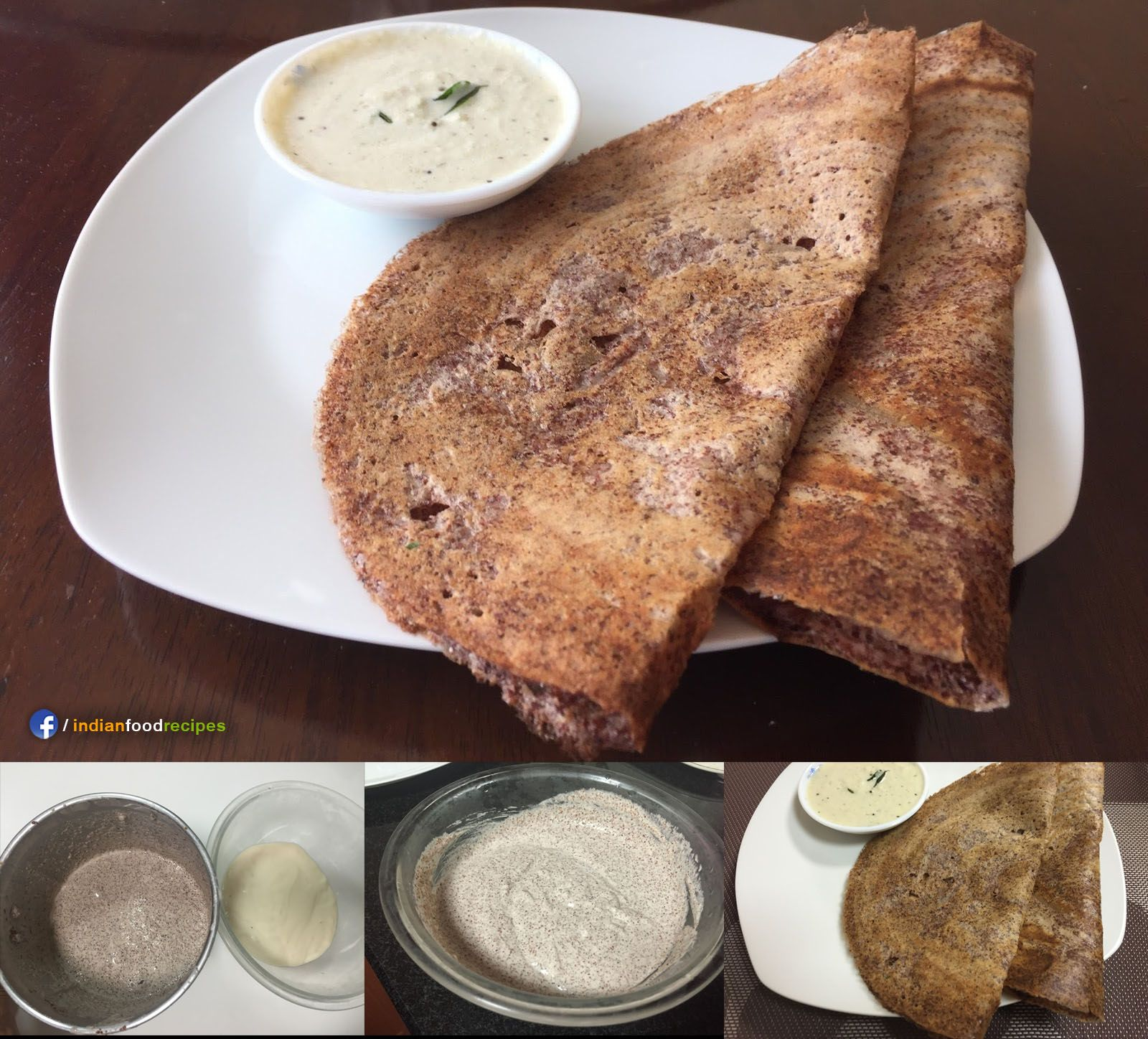 Ragi dosa recipe step by step ragi is the common name of finger food forumfinder Images