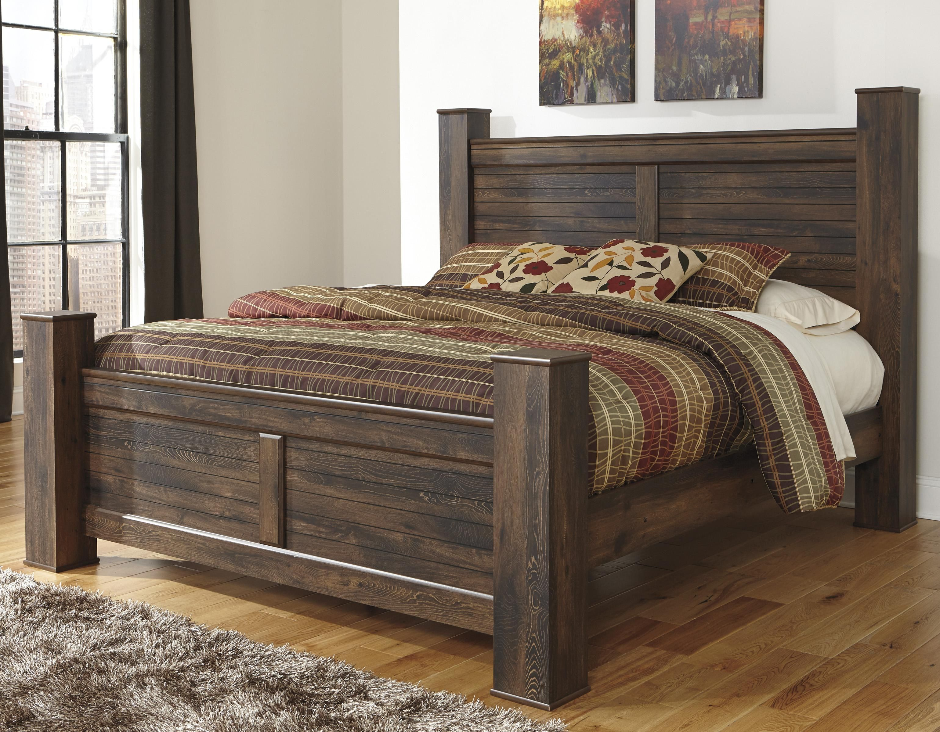 Quinden King Poster Bed By Signature Design By Ashley