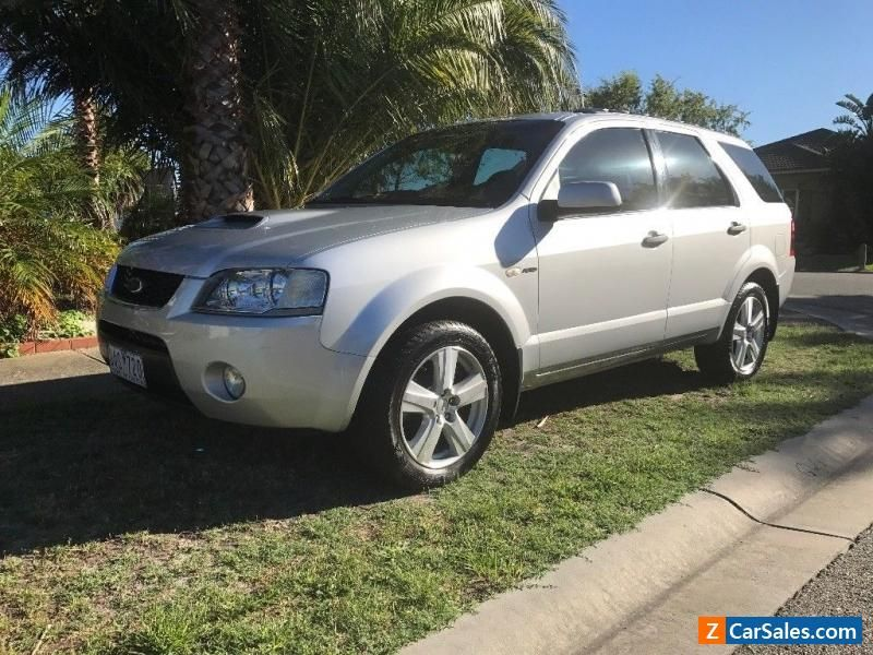 Modified ford territory ghia turbo NO RESERVE. 6 speed auto #ford ...