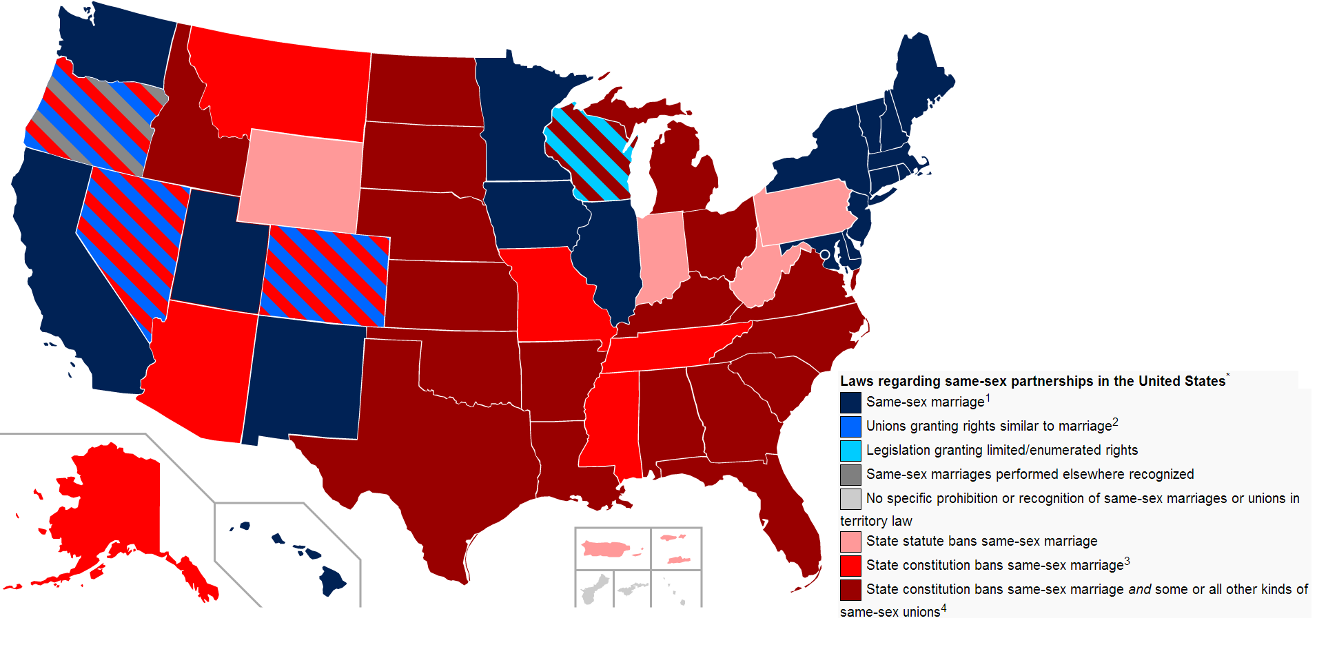 States and same sex marriage