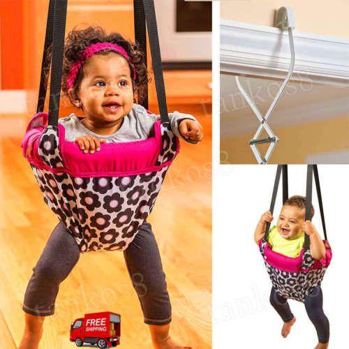 Doorway Jumper Baby Seat Door-frame Clamp Playtime Jump Up Child ...