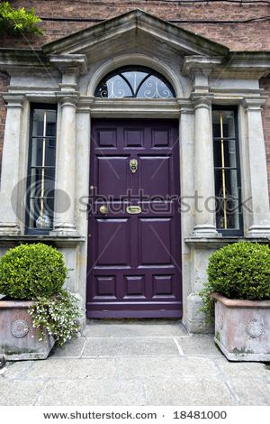 Hmmmm A Purple Front Door Kinda Cool Exterior Paint Colors For House House Entry Doors House Front Door