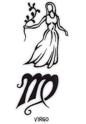 Татуировка оберег для знака зодиака дева
