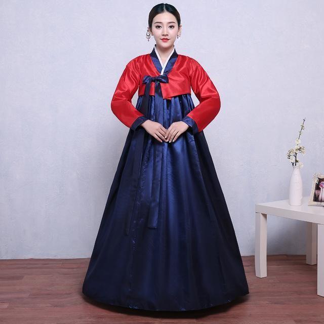 New Female South Korean Traditional Dress Lady Palace Korea Wedding