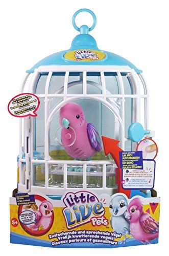 Buy Little Live Pets Bird Cage Playsets And Figures Argos Little Live Pets Pet Bird Cage Pet Bird