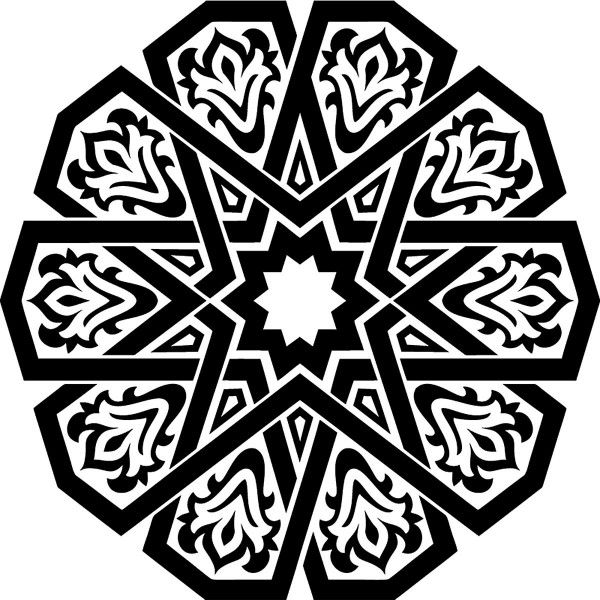 Arabic Design Used In Wall Design Blanket Carpet Islamic Art Pattern Pattern Art Geometric Design Art