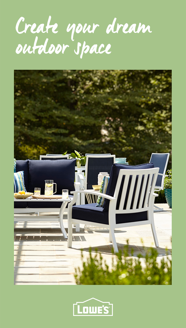 Transform your backyard into an outdoor oasis with Lowe\'s. Discover ...