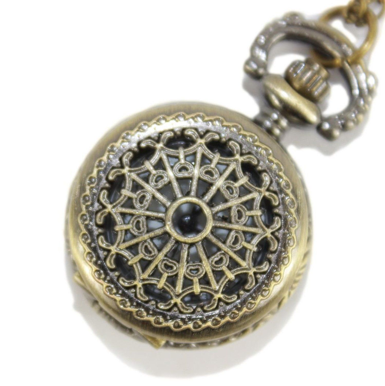 Small Size Cobweb Pocket Watch -- Review more details here