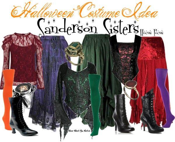 Hocus Pocus Ideas Pinterest Sanderson sisters, Disney films - sisters halloween costume ideas