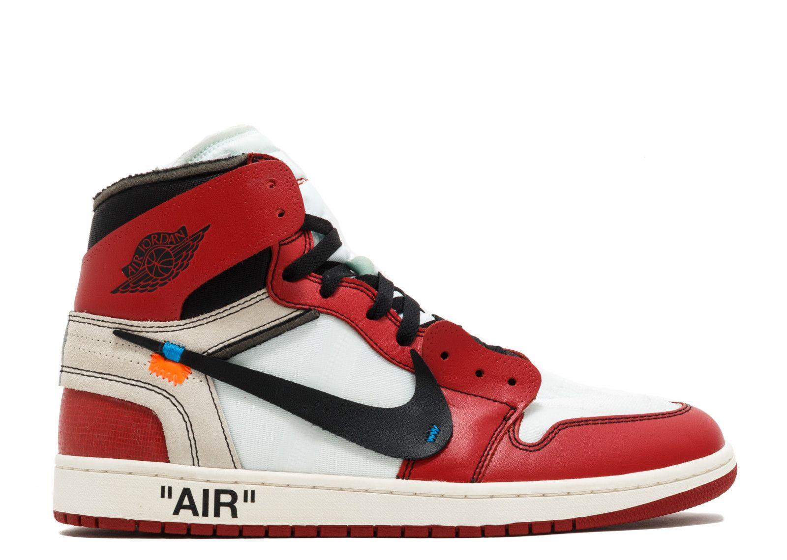 The 10 Air Jordan 1 Off White