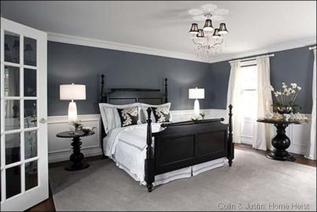 Hooked On Black White Bedroom Colors Home Bedroom Furniture