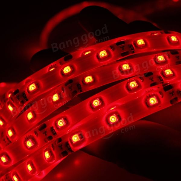 Red led strip lights 5m 300 led smd 3528 waterproof 12v dc led red led strip lights 5m 300 smd 3528 waterproof 12v dc us469 aloadofball Gallery