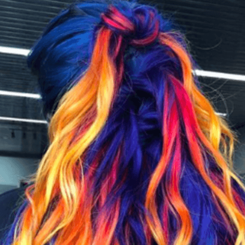 Temporary Hair Color Mascara
