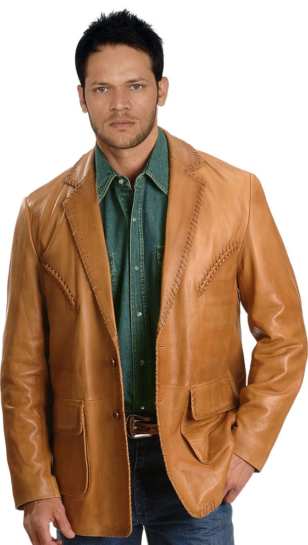 Buy Rugged Mens Leather Blazers Online Mens Leather Blazer Lambskin Leather Blazer Brown Leather Jacket Men [ 1360 x 770 Pixel ]