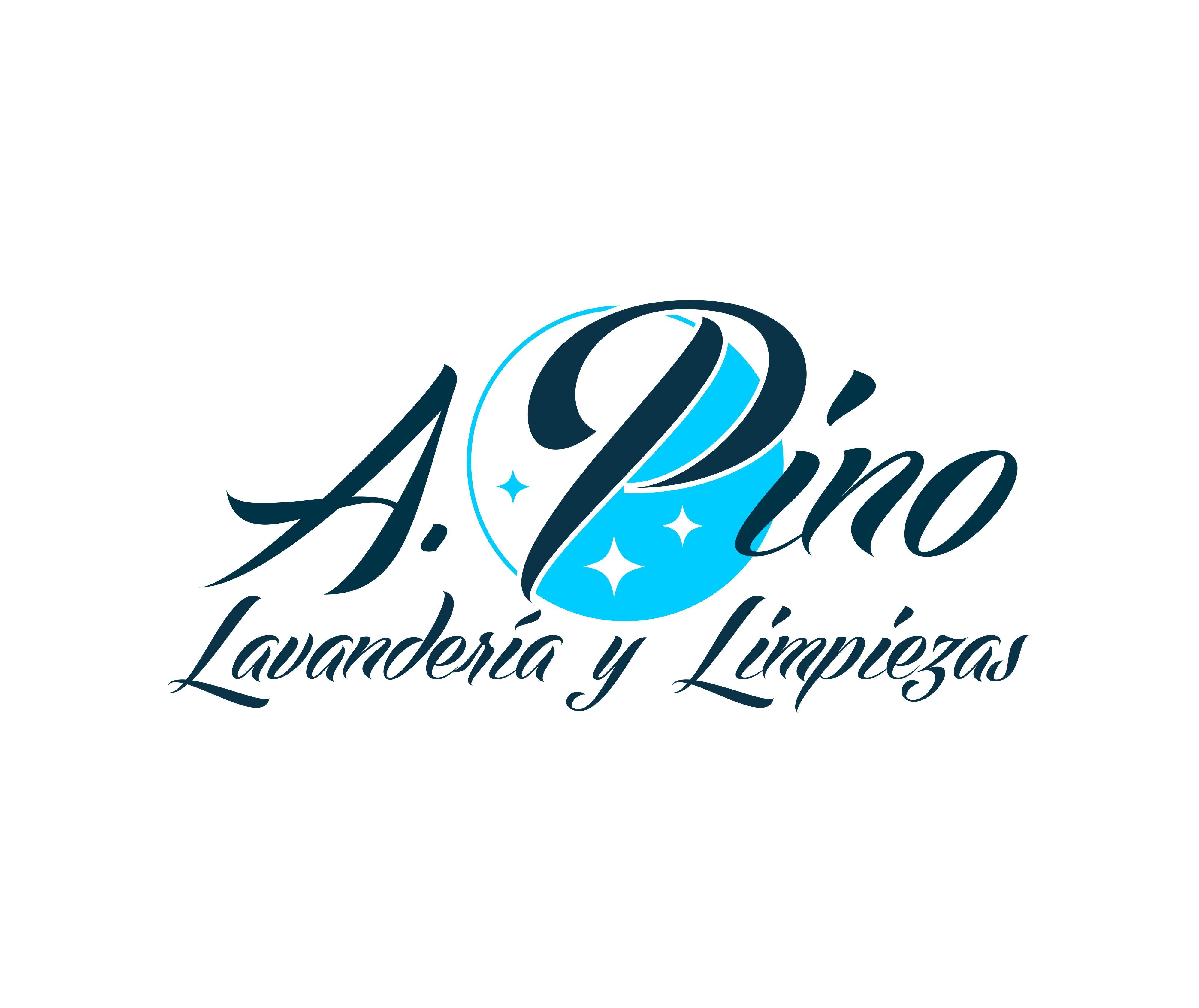 Diseño de logotipo para Lavandería A. Pino | Logotipos por ... | {Pino logo 55}