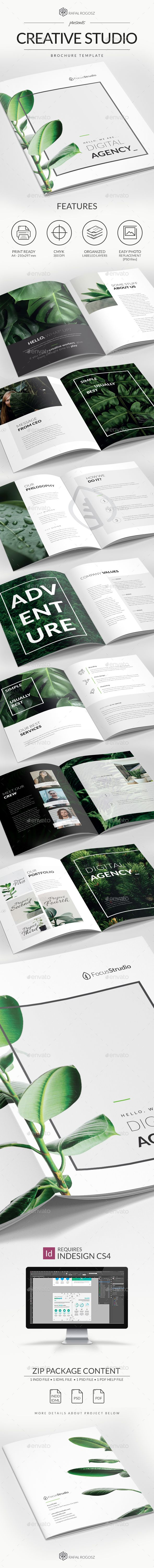 Creative Studio Brochure A  Creative Studio Brochures And Print