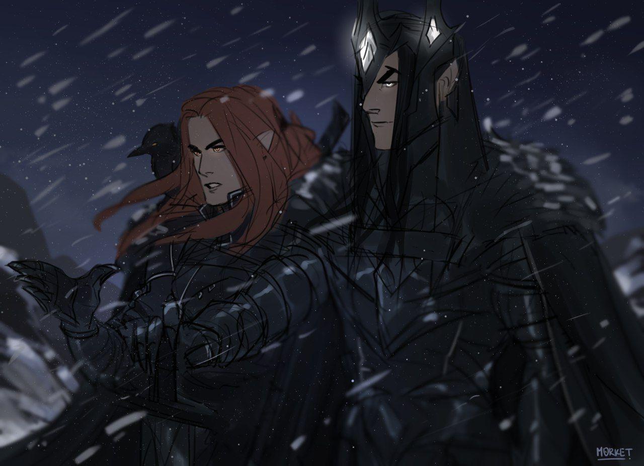 Саурон аниме картинки