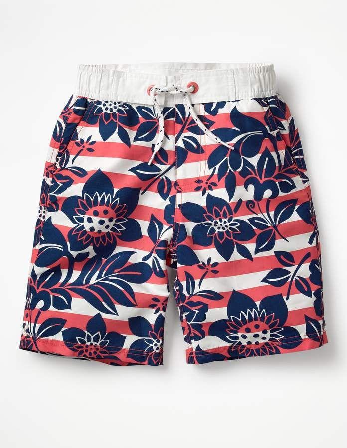 af33a9f7b6 Boden Board Shorts | Products | Boys swimwear, Swimwear, Fashion