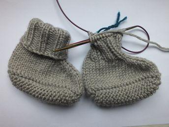 Photo of Baby Slippers Project – Anweisungen und Neuigkeiten | Ines strickt
