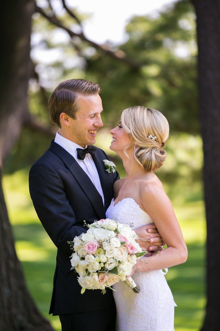 The prettiest bridal hairstyles from real weddings side swept