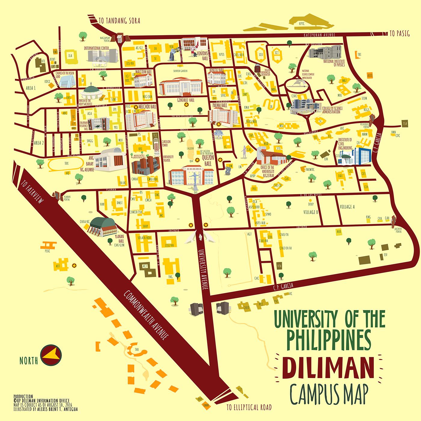 university of cebu main campus map Up Diliman Map From I 1 Campusmap Updiliman Philippine university of cebu main campus map