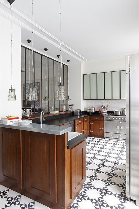 Cuisine Atelier Et Carreaux De Ciment Idees Pour La Maison
