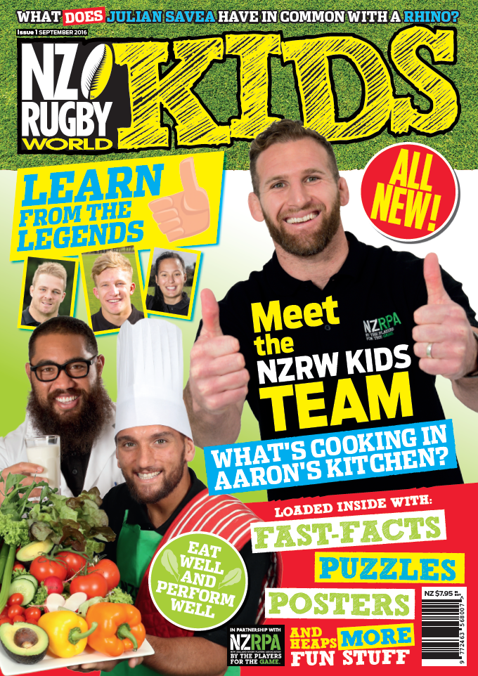 Nz Rugby World Is Launching A Mag Just For Kids Rugby Kids Book Stationery Kids