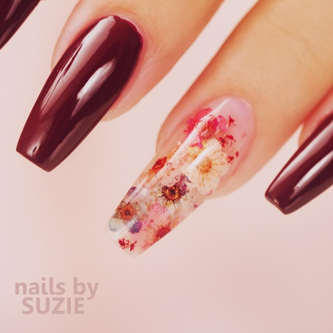 Love this design in Acrylic/ soon I\'ll show you how to do it in GEL ...