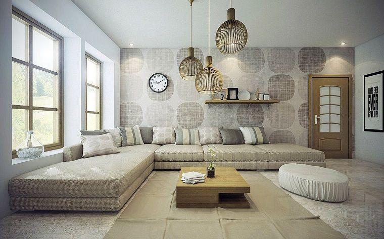 Ideas para decorar una pared de salón que impresionan   Pared ...